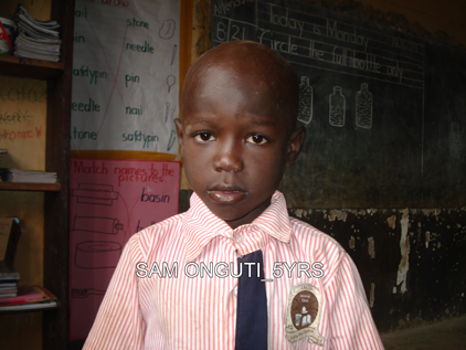 K3 SAM ONGUTI 5YRS