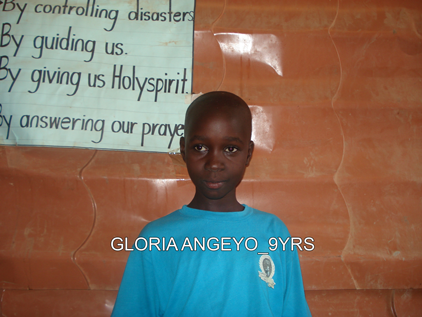 P2 GLORIA ANGEYO 9YRS