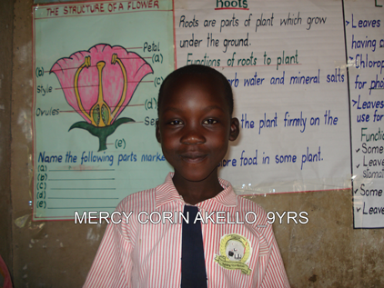 P4 MERCY CORIN AKELLO 9YRS