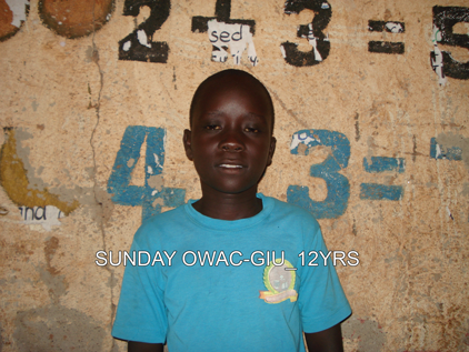 P5 SUNDAY OWAC GIU 12YRS