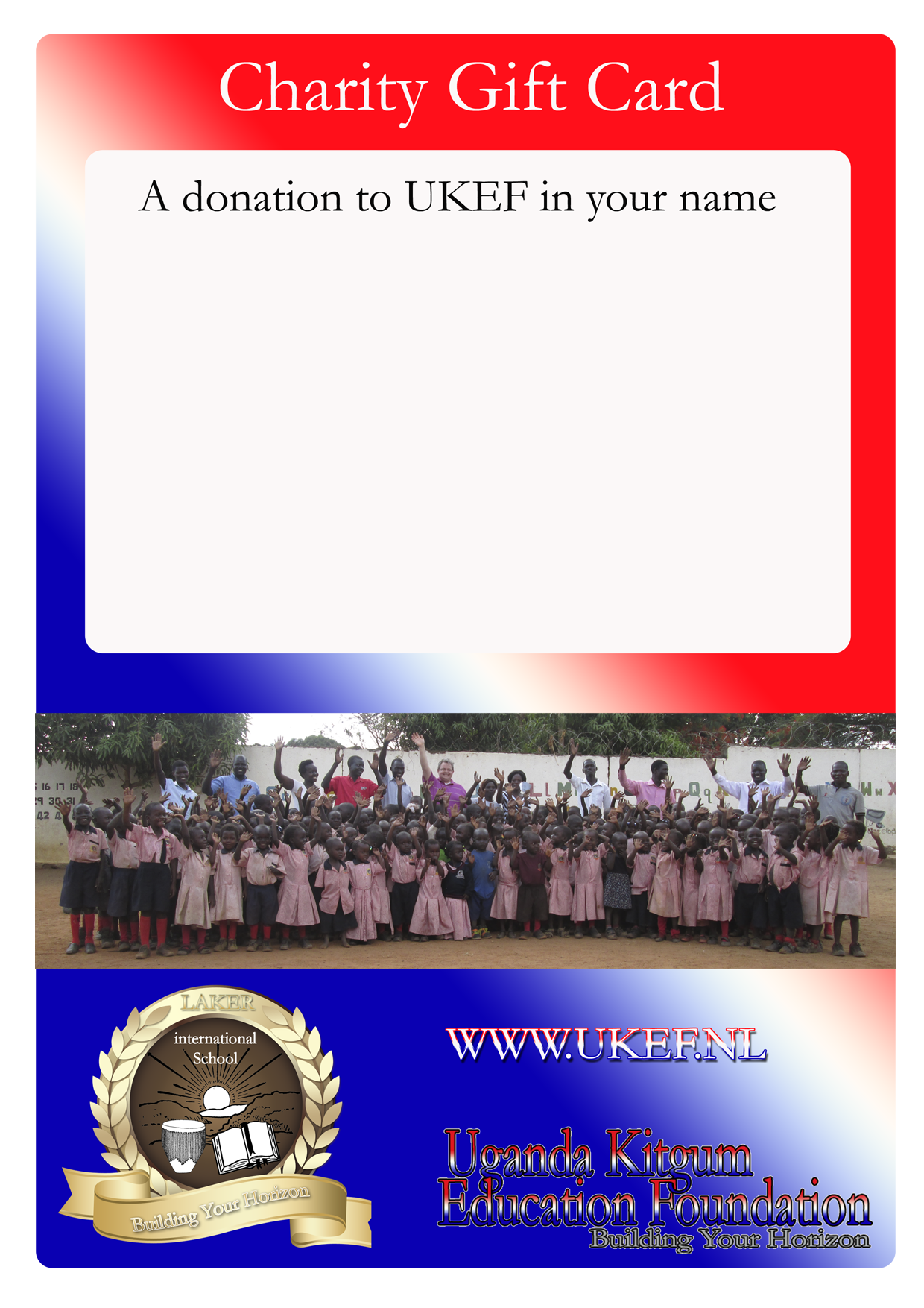 charity gift certificate